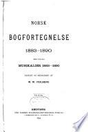 Norsk bokfortegnelse