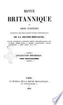 Revue britannique  ou choix d articles traduits des meilleurs ecrits periodiques de la Grande Bretagne  sur la litterature
