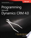 Programming Microsoft Dynamics CRM 4 0