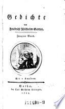 Gedichte von Friedrich Wilhelm Gotter