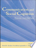 Communication and Social Cognition