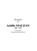 Achille Mauzan 1883-1952 - L'oeuvre Complet - (Catalogue Raisonné)