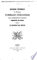 Elogio storico di monsignor Tommaso Struzzieri Vescovo di Todi scritto da Francesco Fabi Montani