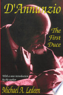 D annunzio  the First Duce