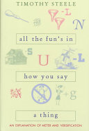 All The Fun S In How You Say A Thing book