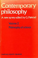 Contemporary Philosophy, a New Survey