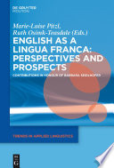 English as a Lingua Franca  Perspectives and Prospects