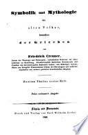 Symbolik und Mythologie der alten Völker