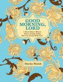 download ebook good morning, lord pdf epub