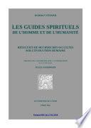 Les guides spirituels de l homme et de l humanit