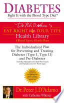 Diabetes  Fight It with the Blood Type Diet