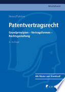 Henn/Pahlow, Patentvertragsrecht