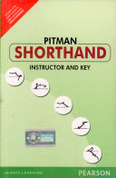 Pitman Shorthand Instructor And Key