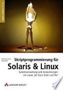 Scriptprogrammierung f  r Solaris   Linux