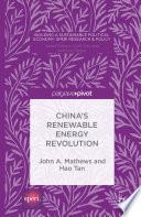 China S Renewable Energy Revolution
