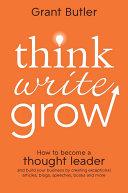 Think Write Grow