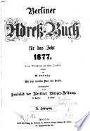 Berliner Adreßbuch