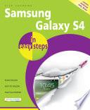 Samsung Galaxy S4 in easy steps