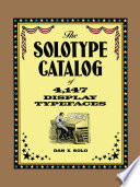 The Solotype Catalog of 4 147 Display Typefaces