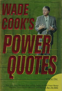 Wade Cook's Power Quotes