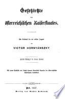 Geschichte des oesterreichischen Kaiserstaates