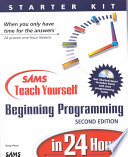 sams-teach-yourself-beginning-programming-in-24-hours
