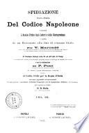 Spiegazione teorico pratica del Codice Napoleone contenente l analisi critica degli autori e della giurisprudenza e seguita da un riassunto alla fine di ciascun titolo