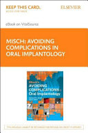Misch's Avoiding Complications in Oral Implantology