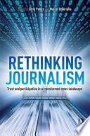 Rethinking Journalism