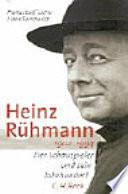 Heinz R  hmann  1902 1994