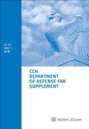 CCH Department of Defense Far Supplement