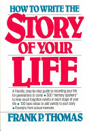 How to Write the Story of Your Life