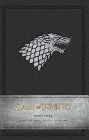 Game of Thrones  House Stark Ruled Pocket Journal