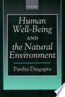 Human Well Being and the Natural Environment