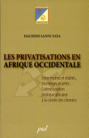 Les privatisations en Afrique occidentale
