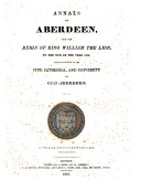 download ebook annals of aberdeen, from the reign of king william the lion ... pdf epub