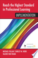 Reach the Highest Standard in Professional Learning  Implementation