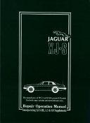 Jaguar Xjs Plus the Supplement Workshop Manual  1975 1988