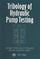 Tribology Of Hydraulic Pump Testing book