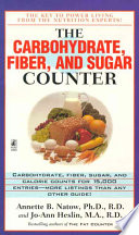The Carbohydrate  Fiber  and Sugar Counter