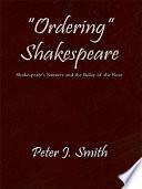"""""""Ordering"""" Shakespeare"""