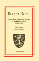 Blood Royal Queen Of England From 1066 To 1399 Genealogical