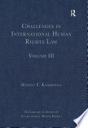 Challenges in International Human Rights Law
