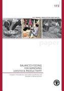 Balanced Feeding for Improving Livestock Productivity