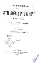 Sette giorni d insurrezione a Palermo avvenimenti del 1866
