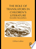 The Role of Translators in Children   s Literature