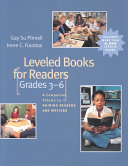 Leveled Books for Readers  Grades 3 6