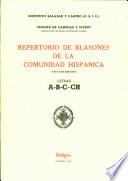 Repertorio de blasones de la comunidad hispánica