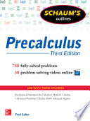Schaum s Outline of Precalculus  3rd Edition