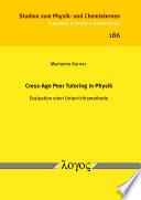 Cross-Age Peer Tutoring in Physik
